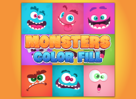 Monster Color Fill